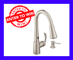 Moen Motionsense Faucet Not Working by Two Erenovate Contests Win A Moen Motionsense Faucet Plus Win 1
