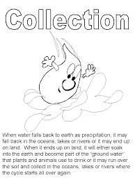 Beautiful Water Cycle Coloring Page 11 On Books With