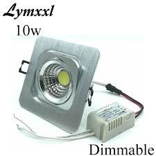 einbau led decke downlights dimmbare 10 w cob led leuchten für badezimmer quadratmeter led downlight 800lm ersetzen 100 w halogen le