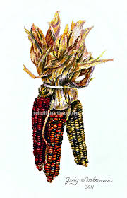 Brackwell Pumpkin Patch Vanilla Wow by Indian Corn In Pointillism Judy U0027s Pointillism Artwork Pinterest