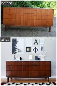 Target Mid Century Modern 6 Drawer Dresser by Before U0026 After Mid Century Modern Credenza With A Glossy White