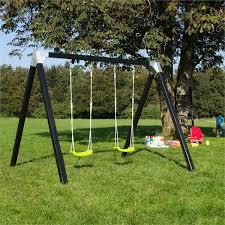 siege balancoire enfant siège balançoire enfant vert avec cordes max 70kg pour portique