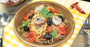 pates a la puttanesca recette de spaghetti alla puttanesca légers tomate olives câpres