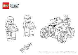 Colouring Page LEGO City Activities Com Within Lego Coloring Pages