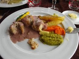 cuisiner la roussette roussette cuisinée au mareuil picture of restaurant la grand