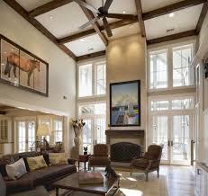 Wall Decor Best 20 Decorating High Ceiling Walls Narrow Living Room