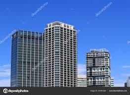 100 Apartment In Yokohama High Rise Port Side District Stock Photo