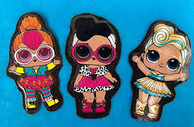 LOL Surprise Dolls Lot Of 3 Magnetic Neon QT Luxe Dollface