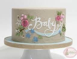 Baby Shower Cake Decorations Ideas Simply Simple Images On Ecdaaebbfcaf Rustic Showers Chic