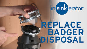 Badger Sink Disposal Troubleshooting by Replace Insinkerator Badger With Badger Disposal Youtube