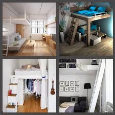 besonders kleine schlafzimmer platzsparend einrichten