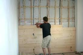 chambre en lambris bois lambris mural chambre decoration lambris mural chambre deco sty