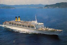 Carnival Paradise Cruise Ship Sinking by History Oceanic A Matter Of Design
