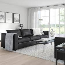 vimle 3er sofa grann bomstad schwarz ikea schweiz