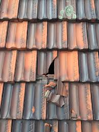 how to temporarily repair a broken roof tile when you don t a