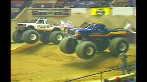 BIGFOOT #8 Racing Memphis, TN 1990 - BIGFOOT 4x4, Inc. - YouTube