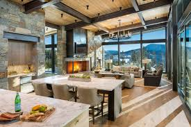 100 Modern Rustic Architecture Mountain Peek Home In Montana Wowow Home