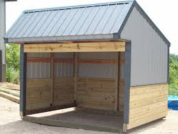 Livestock Loafing Shed Plans by Run In Sheds Buildings By Alpha