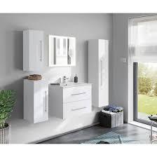 badezimmer badmöbel hochschrank hängeschrank homeline 150cm weiß hochglanz
