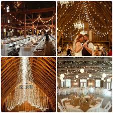 Barn Wedding Lighting Ideas
