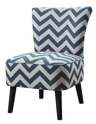 catchy blue and white accent chair with stunning teal accent chair