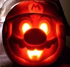 Mario Pumpkin Carving Templates Free by 20 Most Awesome Pumpkin Carvings Awesome Pumpkin Carvings Scary