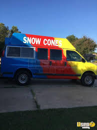 Chevy Shaved Ice / Ice Cream Truck For Sale In Oklahoma