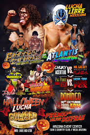 Halloween Town Bakersfield by Club Deportivo Coliseo Lucha Libre Mexicana By Arizona Event