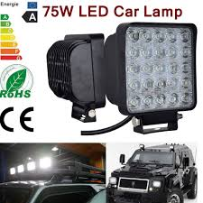 75w LED 25leds Work Light Bar Flood Lights For Offroad Truck SUV ... Led Light For Trucks And Bulbs 103 Beautiful Decoration Also Car Sucool 2pcs One Pack 4 Inch Square 48w Work Off Road Led Lights Ebay 2014 Terrain Ford Raptor Rigid Build Northridge Nation News Bar 108w 18inch 12v Ip67 Offroad Driving Small Mods To Add The Truck F150 Forum Community Of 2x 18w Flush Mount Flood Round Fog Lamp 2008 F250 Xlt 4x4 Cml So Cal Carter Truck 2x 80w Tractor 4wd Online Buy Whosale Life Works Flood Lights From China