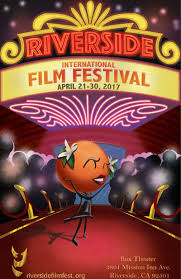 Student Wins Riverside International Film Festival Poster Design Contest
