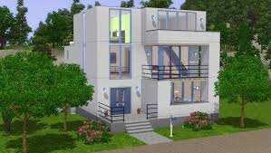 100 Modern Industrial House Plans Dippy Designs Town The Alpha Sims 3 Store Sims