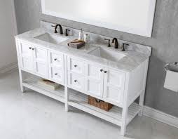 72 Inch Wide Double Sink Bathroom Vanity by White Bathroom Vanities Modern Vanity For Bathrooms