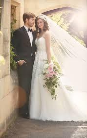 a line wedding dress essense of australia