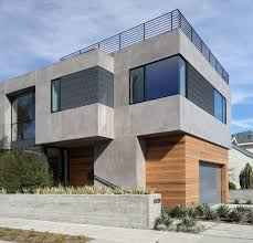 100 Modern Stucco House Home With Exterior Flat RoofLine Wood Siding