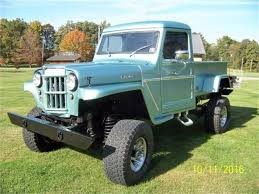 100 Willys Jeep Truck For Sale 1963 For ClassicCarscom CC1121797