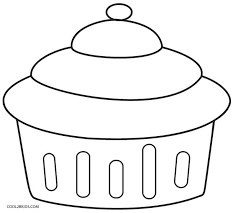 Cupcake Coloring Pages to Print