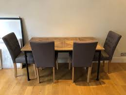 Table + 4 Chairs Perfect For Small Spaces In W11 Chelsea For ... Ding Table Ideas Articulate Rectangular Glass Dectable Extending Round South And Best Small Kitchen Tables Chairs For Spaces Folding Ding Table And Chairs Folding Rovicon Purbeck Appealing Modern Wooden Mills Wood Designs De Cushions Room Lighting Chair 4 Perfect Small Spaces In W11 Chelsea Very Fniture Space Free Shipping 6 Seater Mable Ding Table Set Meja Makan Batu Marfree Chair Ausgezeichnet Long Narrow Legs