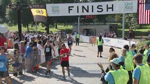 Great Pumpkin 10k 2017 by 2017 Great Race 10k Finish Line Video 30 34 40 00 Cbs Pittsburgh