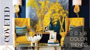 2018 home interior color trends youtube