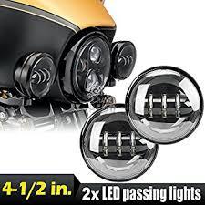 4 1 2 4 5 inch daymaker led passing light for harley