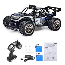 Amazon.com: Distianert 1:16 Scale Electric RC Car Off Road Vehicle ...