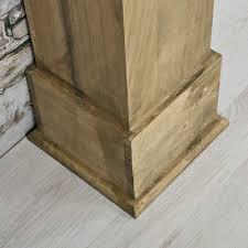 kamin attrappe kaminkonsole attrappe kaminzubehör antik deko wohnzimmer holz