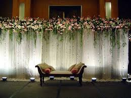 Simple Wedding Stage Decoration Photos
