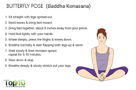 Butterfly Pose For Asthma Relief