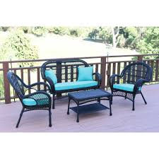 4pc Santa Maria Black Wicker Conversation Set - Sky Blue Cushions 3pc Black Rocker Wicker Chair Set With Steel Blue Cushion Buy Stackable 2 Seater Rattan Outdoor Patio Blackgrey Bargainpluscomau Best Choice Products 4pc Garden Fniture Sofa 4piece Chairs Table Garden Fniture Set Lissabon 61 With Protective Cover Blackbrown Temani Amazonia Atlantic 2piece Bradley Synthetic Armchair Light Grey Cushions Msoon In Trendy For Ding Fabric Tasures Folding Chairrattan Chairhigh Back Product Intertional Caravan Barcelona Square Of Six