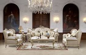 Douglas Leather Formal Living Room Set For home