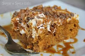 Pumpkin And Cake Mix Dessert by The Perfect Pumpkin Poke Cake Sugar N U0027 Spice Gals