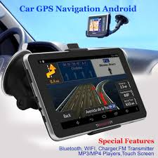 100 Gps Systems For Trucks Car GPS Navigation 7inch Android 16G MT8127 Quadcore