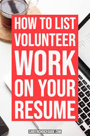 How Do You List Volunteer Work On A Resume? | Resumes And ... 500 Free Professional Resume Examples And Samples For 2019 College Graduate Example Writing Tips Receptionist Skills Job Description Volunteer Acvities Templates How To Include Work On The 13 Secrets You Division Of Student Affairs Resume To List On Your Sample Volunteer Work Examples Jasonkellyphotoco 14 Listing Experience Do You List A Rumes