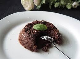 schokoladenküchlein mit flüssigem kern oliver